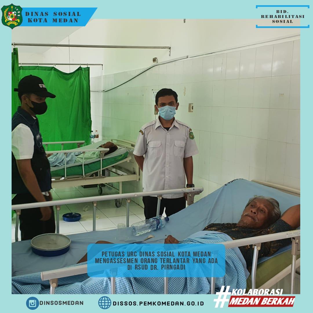 Giat Rutin Dinas Sosial Kota Medan Ke RSUD DR. Pirngadi Kota Medan