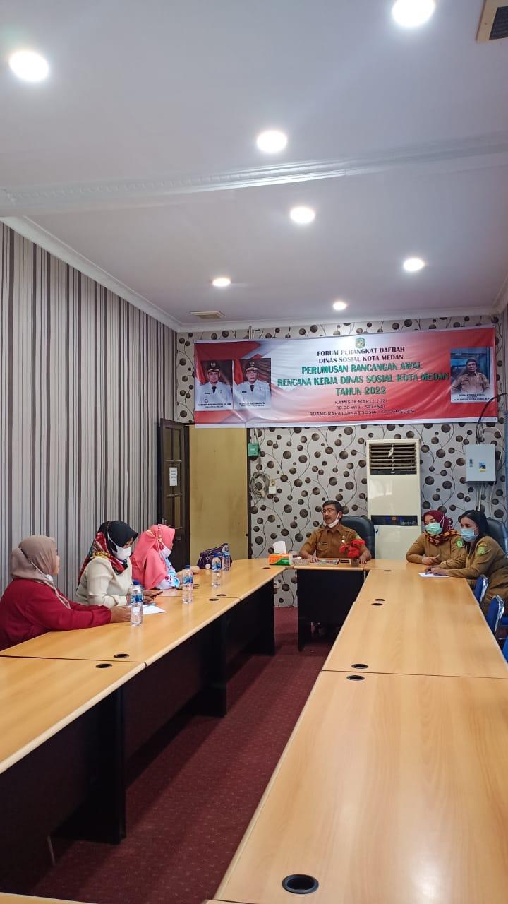 Audensi dengan Himpunan Wanita Disabilitas Kota Medan
